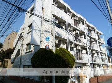 東京都小金井市、武蔵境駅徒歩28分の築30年 4階建の賃貸マンション