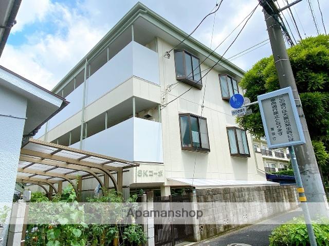 東京都西東京市、武蔵境駅徒歩16分の築26年 3階建の賃貸マンション