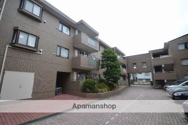 東京都小金井市、東小金井駅徒歩5分の築24年 3階建の賃貸マンション