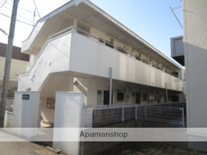 東京都小金井市、東小金井駅徒歩10分の築35年 2階建の賃貸マンション