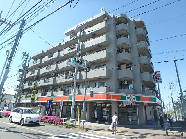 東京都小金井市、東小金井駅徒歩8分の築23年 6階建の賃貸マンション
