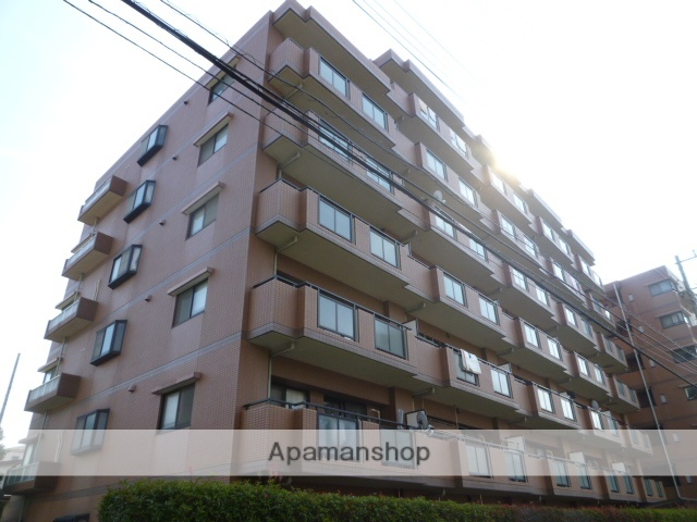 東京都三鷹市、三鷹駅徒歩20分の築19年 7階建の賃貸マンション