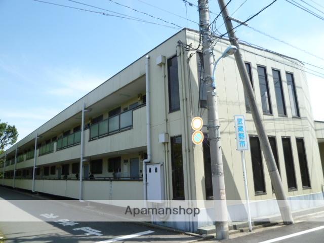 東京都武蔵野市、三鷹駅バス10分市営プール下車後徒歩4分の築30年 2階建の賃貸マンション