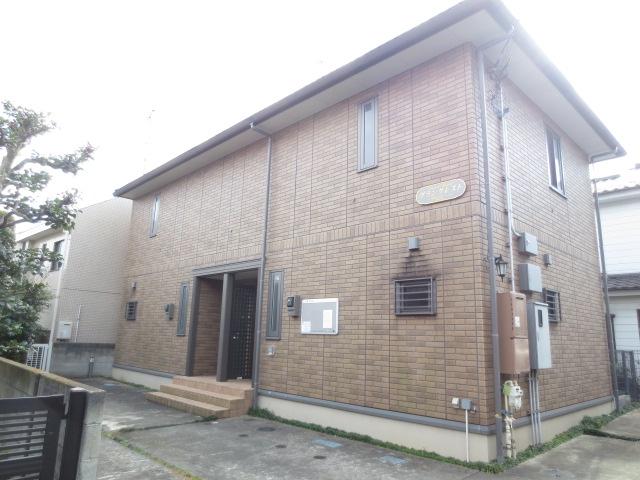 東京都三鷹市、三鷹駅バス18分天文台裏下車後徒歩3分の築26年 2階建の賃貸テラスハウス