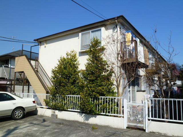 東京都小金井市、武蔵小金井駅徒歩23分の築25年 2階建の賃貸アパート