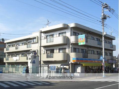 東京都小金井市、東小金井駅徒歩10分の築25年 3階建の賃貸マンション