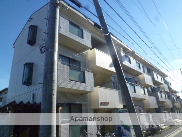 東京都三鷹市、三鷹駅徒歩24分の築30年 3階建の賃貸マンション