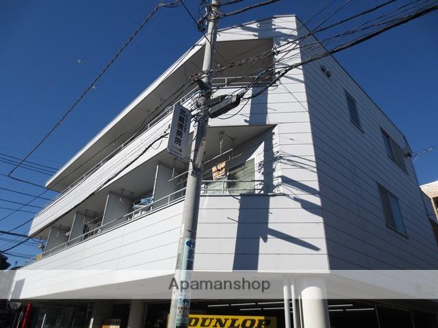 東京都武蔵野市、武蔵境駅徒歩3分の築27年 3階建の賃貸マンション