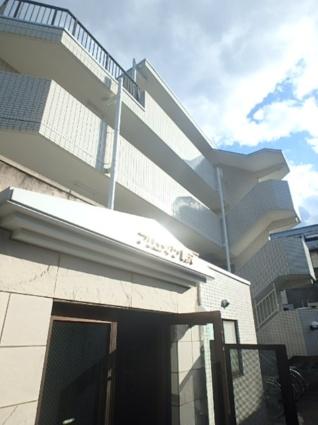 東京都目黒区、学芸大学駅徒歩25分の築26年 4階建の賃貸マンション
