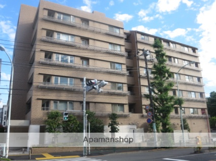 東京都目黒区、都立大学駅徒歩20分の築13年 7階建の賃貸マンション