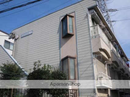 東京都目黒区、都立大学駅徒歩25分の築24年 2階建の賃貸アパート