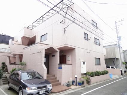 東京都世田谷区、駒沢大学駅徒歩20分の築23年 3階建の賃貸マンション