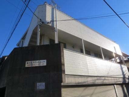 東京都目黒区、学芸大学駅徒歩20分の築21年 3階建の賃貸アパート