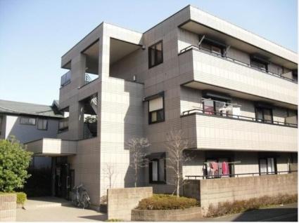 東京都世田谷区、都立大学駅徒歩20分の築16年 3階建の賃貸マンション