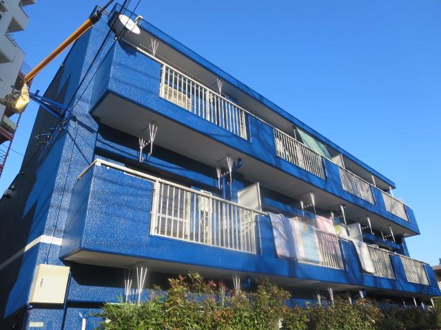 東京都世田谷区、駒沢大学駅徒歩6分の築34年 3階建の賃貸マンション