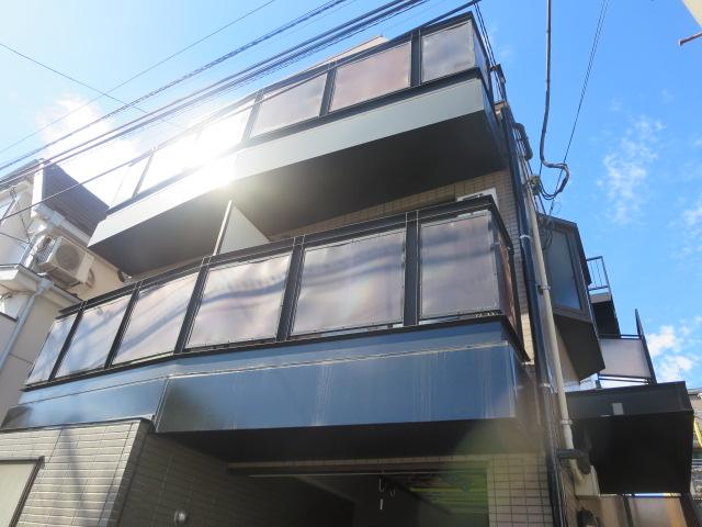 東京都世田谷区、桜新町駅徒歩10分の築24年 3階建の賃貸マンション