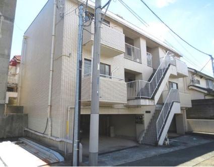 東京都目黒区、都立大学駅徒歩8分の築30年 3階建の賃貸マンション