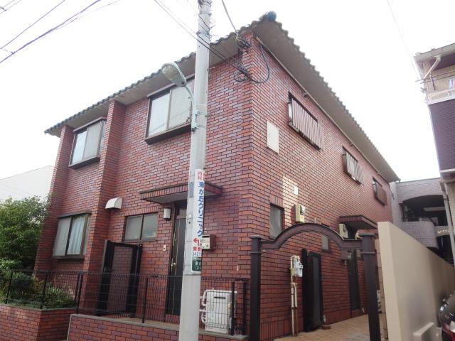 東京都目黒区、三軒茶屋駅徒歩19分の築20年 2階建の賃貸マンション