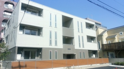 東京都世田谷区、桜新町駅徒歩17分の新築 3階建の賃貸アパート