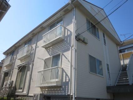 東京都世田谷区、桜新町駅徒歩3分の築26年 2階建の賃貸アパート