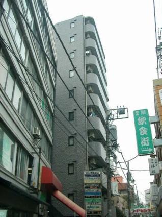 東京都目黒区、都立大学駅徒歩1分の築19年 10階建の賃貸マンション