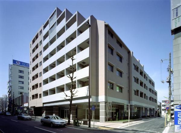 東京都世田谷区、池尻大橋駅徒歩19分の築13年 8階建の賃貸マンション