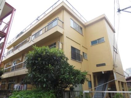 東京都世田谷区、駒沢大学駅徒歩24分の築46年 3階建の賃貸マンション