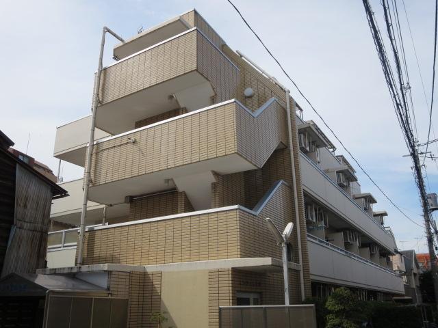 東京都世田谷区、駒沢大学駅徒歩9分の築24年 4階建の賃貸マンション