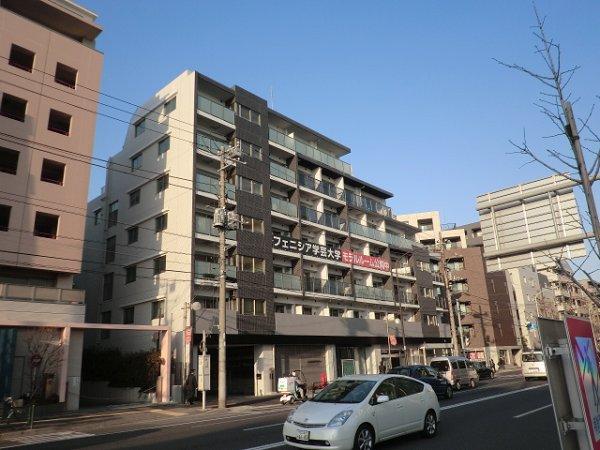 東京都目黒区、祐天寺駅徒歩16分の築5年 7階建の賃貸マンション