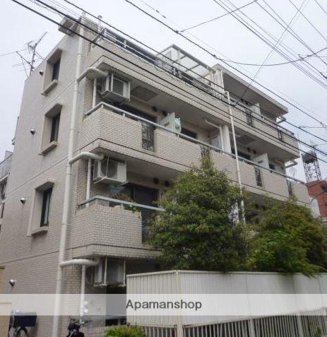 東京都世田谷区、等々力駅徒歩13分の築33年 4階建の賃貸マンション