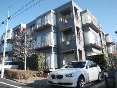 東京都目黒区、都立大学駅徒歩15分の築27年 3階建の賃貸マンション