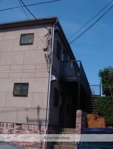 東京都世田谷区、自由が丘駅徒歩10分の築20年 2階建の賃貸アパート