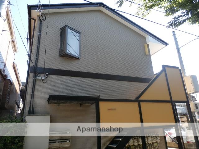 東京都目黒区、学芸大学駅徒歩19分の築14年 2階建の賃貸アパート