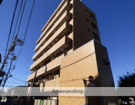 東京都目黒区、都立大学駅徒歩11分の築34年 7階建の賃貸マンション