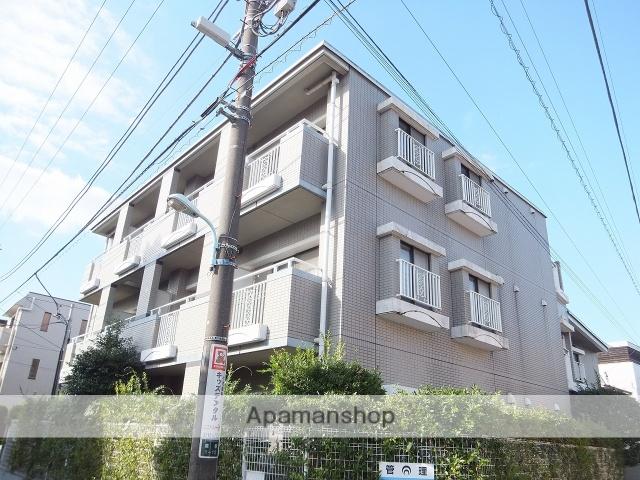 東京都目黒区、祐天寺駅徒歩20分の築20年 3階建の賃貸マンション