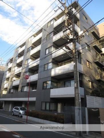 東京都目黒区、都立大学駅徒歩7分の築27年 6階建の賃貸マンション
