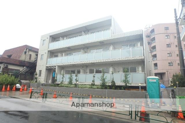 東京都目黒区、都立大学駅徒歩11分の築1年 3階建の賃貸マンション