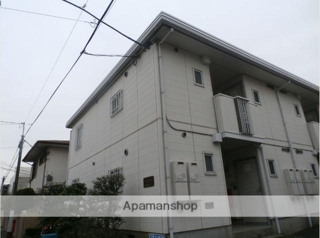 東京都目黒区、学芸大学駅徒歩15分の築24年 2階建の賃貸アパート