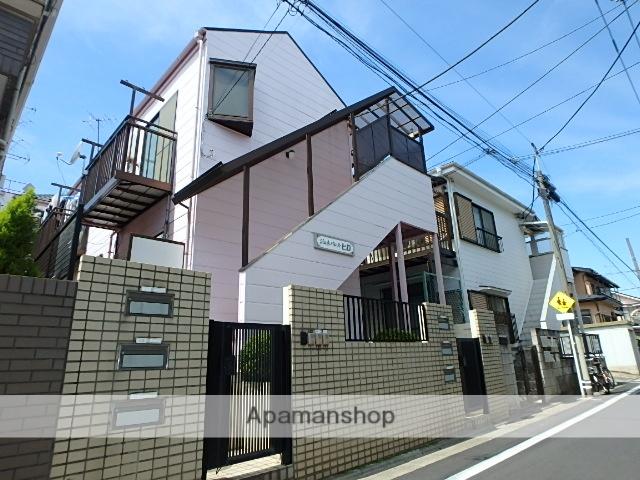 東京都目黒区、祐天寺駅徒歩9分の築25年 2階建の賃貸アパート