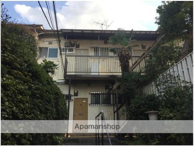 東京都目黒区、学芸大学駅徒歩19分の築37年 2階建の賃貸アパート