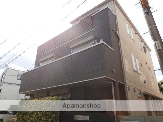 東京都目黒区、祐天寺駅徒歩15分の築3年 3階建の賃貸アパート