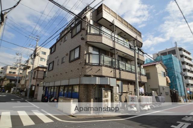 東京都目黒区、祐天寺駅徒歩11分の築18年 4階建の賃貸マンション