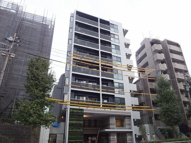 東京都目黒区、学芸大学駅徒歩24分の新築 9階建の賃貸マンション