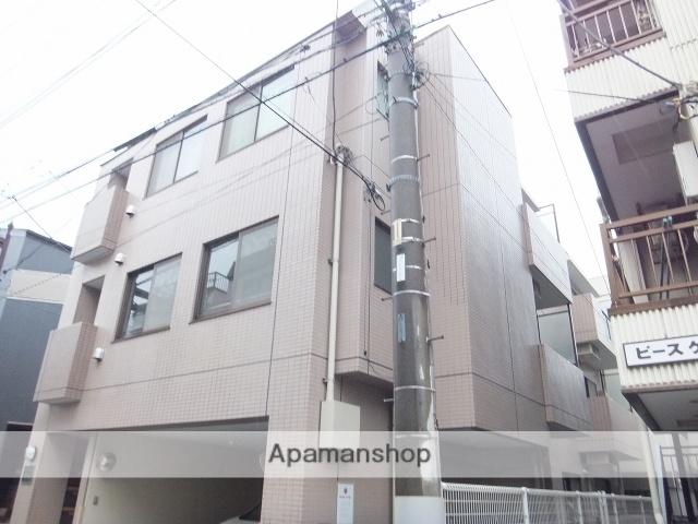 東京都目黒区、学芸大学駅徒歩15分の築20年 3階建の賃貸マンション