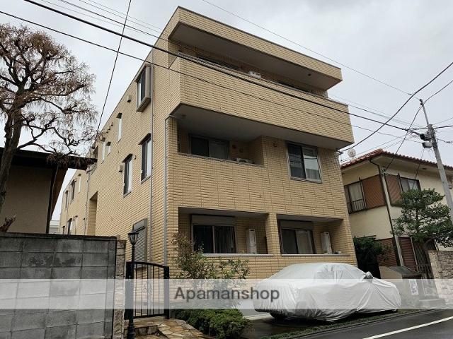 東京都目黒区、学芸大学駅徒歩12分の築7年 3階建の賃貸マンション