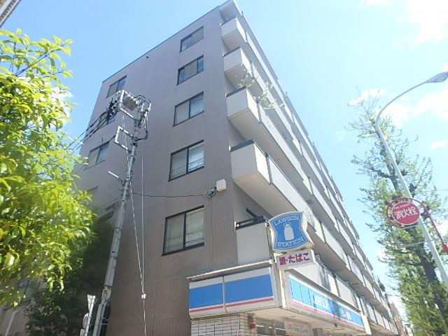 東京都目黒区、祐天寺駅徒歩18分の築21年 6階建の賃貸マンション