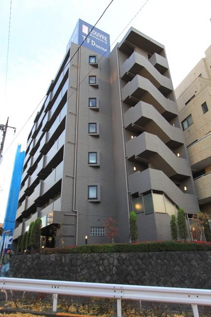 東京都目黒区、学芸大学駅徒歩14分の築13年 7階建の賃貸マンション