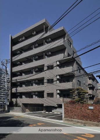 東京都目黒区、都立大学駅徒歩5分の築4年 6階建の賃貸マンション