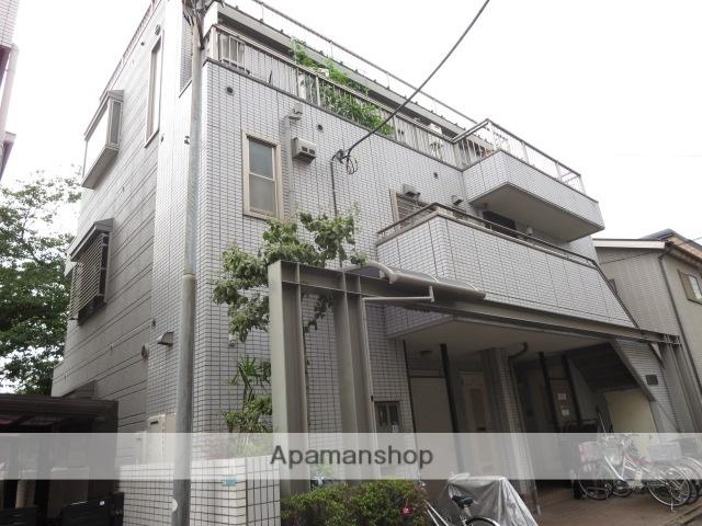 東京都目黒区、祐天寺駅徒歩8分の築21年 3階建の賃貸アパート