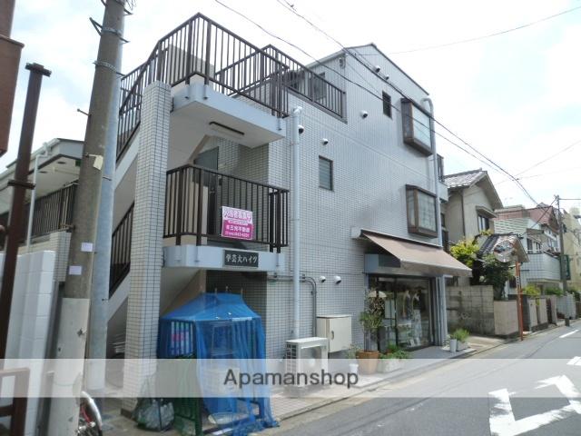 東京都目黒区、祐天寺駅徒歩17分の築24年 3階建の賃貸マンション